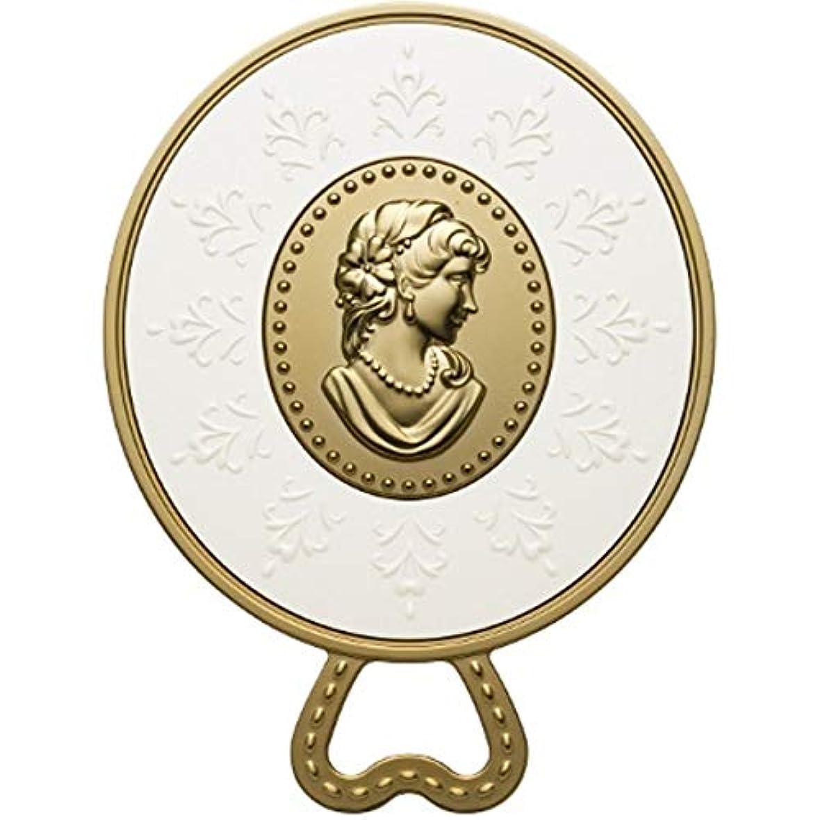 マイコン掃く宇宙飛行士(レ?メルヴェイユーズ ラデュレ) Les Merveilleuses LADUREE ラデュレ ハンドミラー 鏡 カメオ アンティーク調 ゴールド 金 ブランド