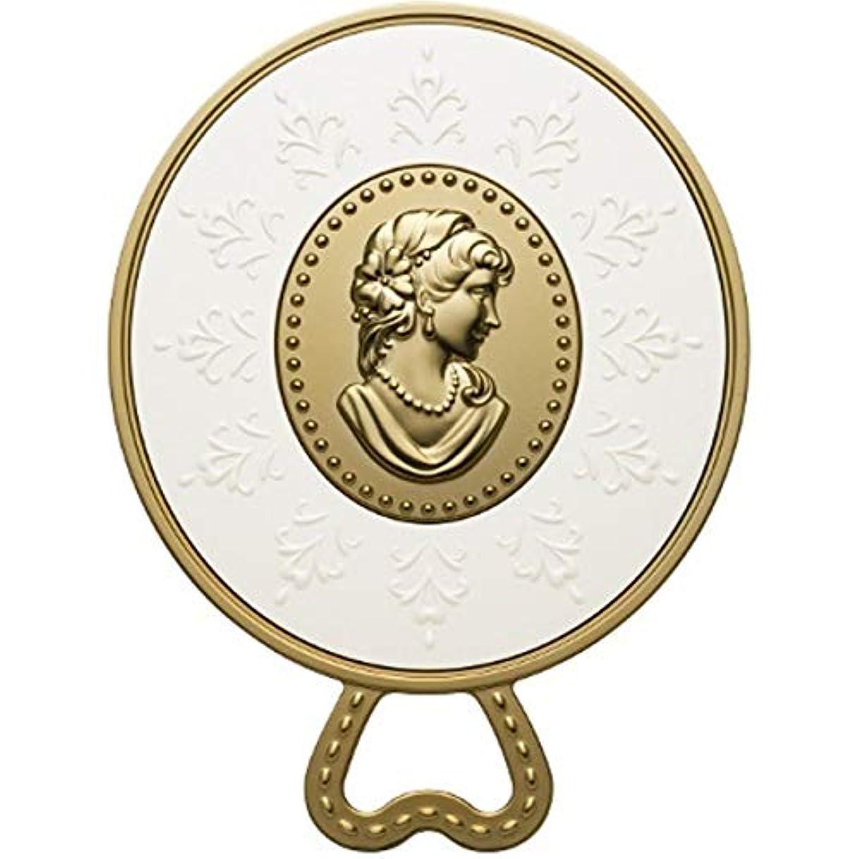 ようこそペナルティ行う(レ?メルヴェイユーズ ラデュレ) Les Merveilleuses LADUREE ラデュレ ハンドミラー 鏡 カメオ アンティーク調 ゴールド 金 ブランド
