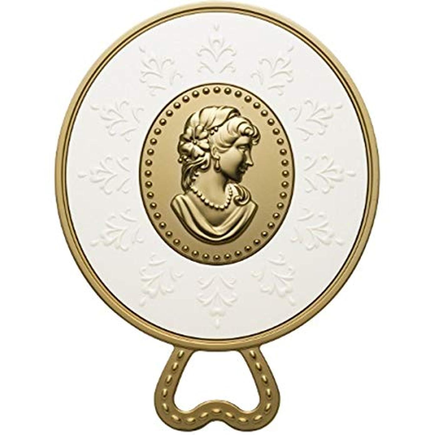 出来事岩忘れられない(レ?メルヴェイユーズ ラデュレ) Les Merveilleuses LADUREE ラデュレ ハンドミラー 鏡 カメオ アンティーク調 ゴールド 金 ブランド