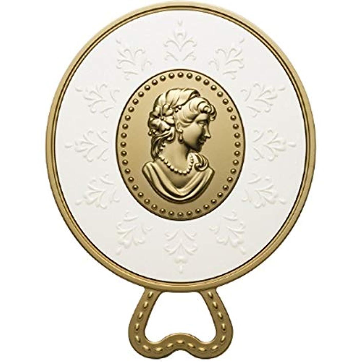 梨会計測定(レ?メルヴェイユーズ ラデュレ) Les Merveilleuses LADUREE ラデュレ ハンドミラー 鏡 カメオ アンティーク調 ゴールド 金 ブランド