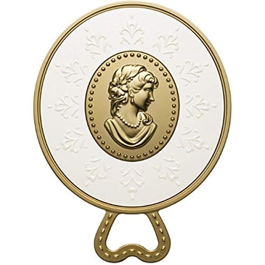 ロープ基礎理論休眠(レ?メルヴェイユーズ ラデュレ) Les Merveilleuses LADUREE ラデュレ ハンドミラー 鏡 カメオ アンティーク調 ゴールド 金 ブランド