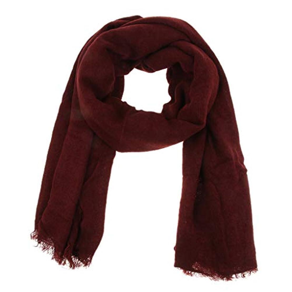 維持着る配管工B Baosity 長スカーフ ショール ラップ カシミヤ 女性 フリンジ付き 冷房対策 UVカット 保暖 防風 贈り物 全6色