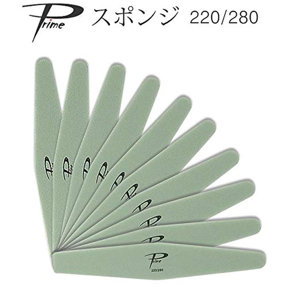 レタッチ麻痺技術者10本セット Prime スポンジファイル 220/280
