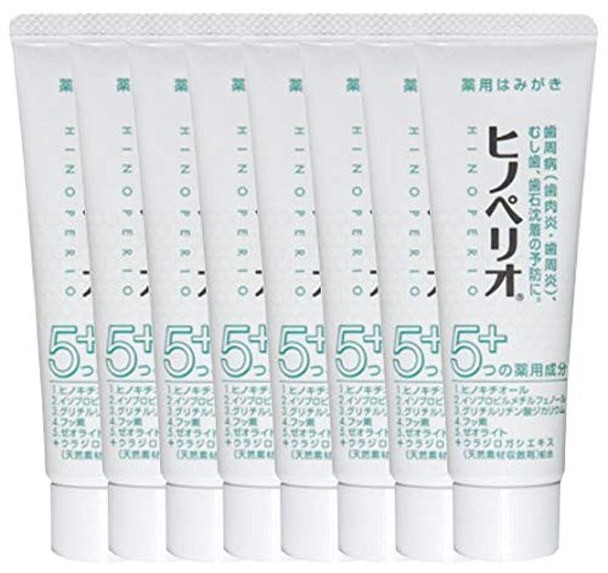 区因子手錠昭和薬品 ヒノペリオ60g 医薬部外品 × 8本