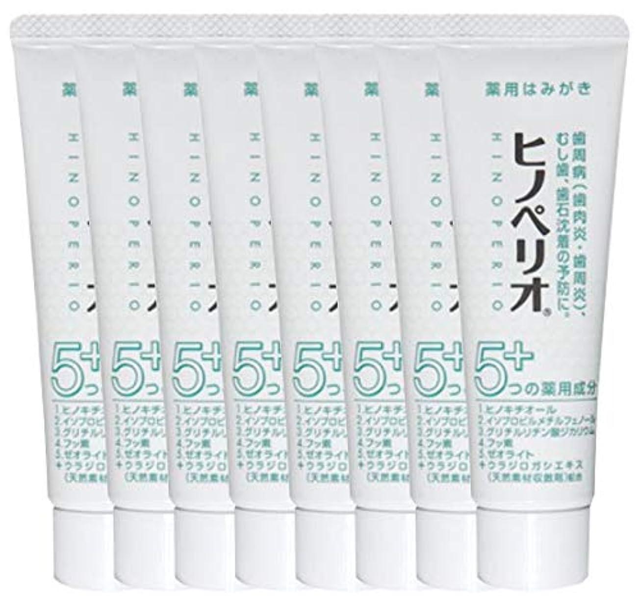 受粉者ミスペンド修士号昭和薬品 ヒノペリオ60g 医薬部外品 × 8本