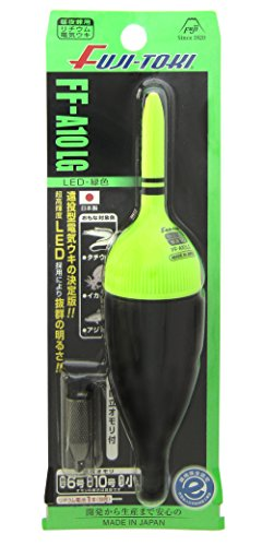 冨士灯器 FF-A10LG 遠投型電気ウキ  緑
