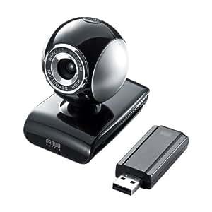 サンワサプライ ワイヤレスWebカメラ ブラック CMS-V36BK