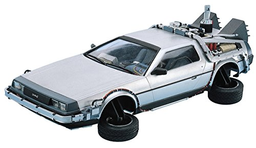 Qingdao culture teaching, movie mechanical series No.9 back / to / the / future DeLorean part II 1 / 24 scale plastic model