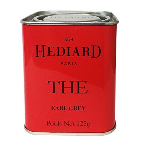 エディアール紅茶 HEDIARD アールグレイ 茶葉 125g