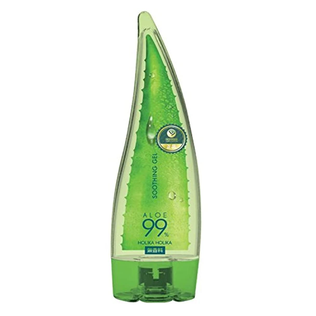 疑い影響力のある環境に優しいホリカホリカ アロエ99%スージングジェル 無香料 250mL