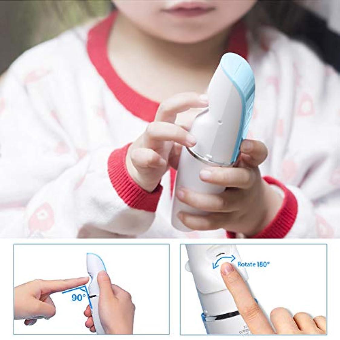 市の花克服する然とした【出産祝い】 超人気ベビー用ネイルトリマー USB充電式 かわいい 超静音 簡単安全 新生児最適