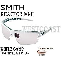 SMITH(スミス) REACTOR MK2 WHITE CAMO 【レンズ】HYDE&IGNITOR 209000007サングラス