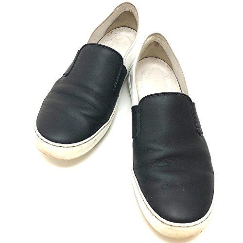 (シャネル) CHANEL G31713 バイカラー スリッポン シューズ 靴 スニーカー レザー/レディース 中古
