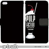 パルプ・フィクション PULP FICTION 手帳型 Google Pixel 3(G007602_03) 専用 映画 ジョン・トラボルタ ユマ・サーマン pop art センス 個性的 スマホケース
