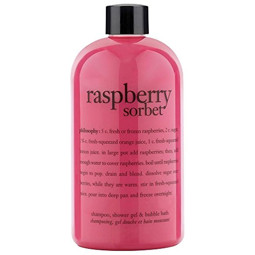 牛肉負荷はがき哲学ラズベリーシャワージェル480ミリリットル (Philosophy) - Philosophy Raspberry Shower Gel 480ml [並行輸入品]
