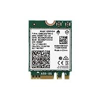 ワイヤレスネットワークアダプター、ワイヤレスAC 9260ギガビットラップトップWiFiカードBluetooth 5.0-デュアルバンドワイヤレスBluetoothアダプター (1pc)