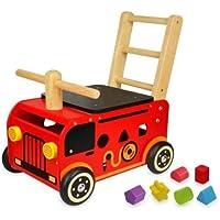 I'mTOY ウォーカー&ライド 消防車 IM-87480
