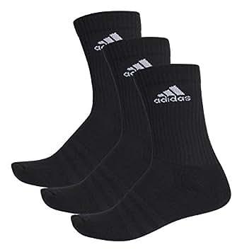 (アディダス) adidas トレーニングウェア 3S パフォーマンス 3Pクルーソックス KAW60 [ユニセックス] AA2298 ブラック/ブラック/ブラック 1921