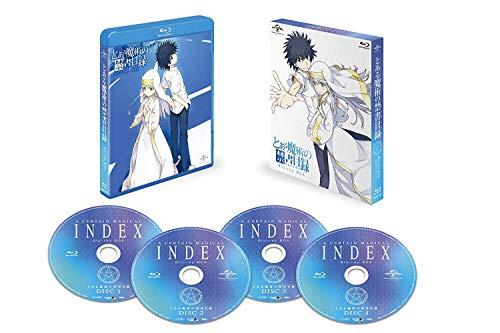 【Amazon.co.jp限定】とある魔術の禁書目録 Blu-ray BOX スペシャルプライス版(B3クリアポスター2枚セット...