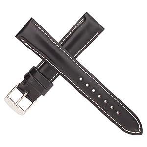 [バンビ]BAMBI 時計ベルト コードバン革 ネイビー 20ミリ SUA015DS