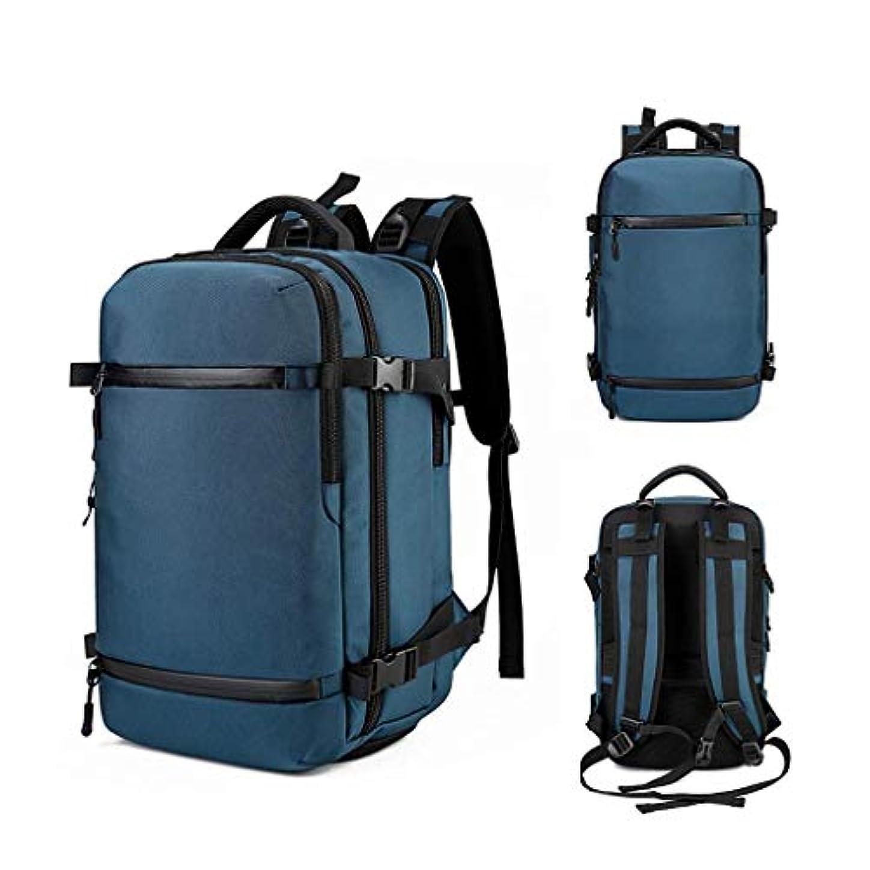 憲法出会い彼らのものDBSCD USB屋外バックパック、50 L多機能旅行デイパック大容量防水旅行バックパック、リュックサック男性、キャンプ、登山、ランニング、B