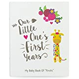 Ronica Baby Memory Book - 60 Page Photo Album and Keepsake Scrapbook by Ronica