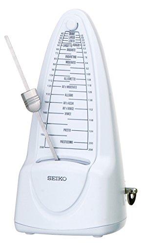SEIKO セイコー メトロノーム 振り子式 スタンダード ピュアホワイト SPM320W