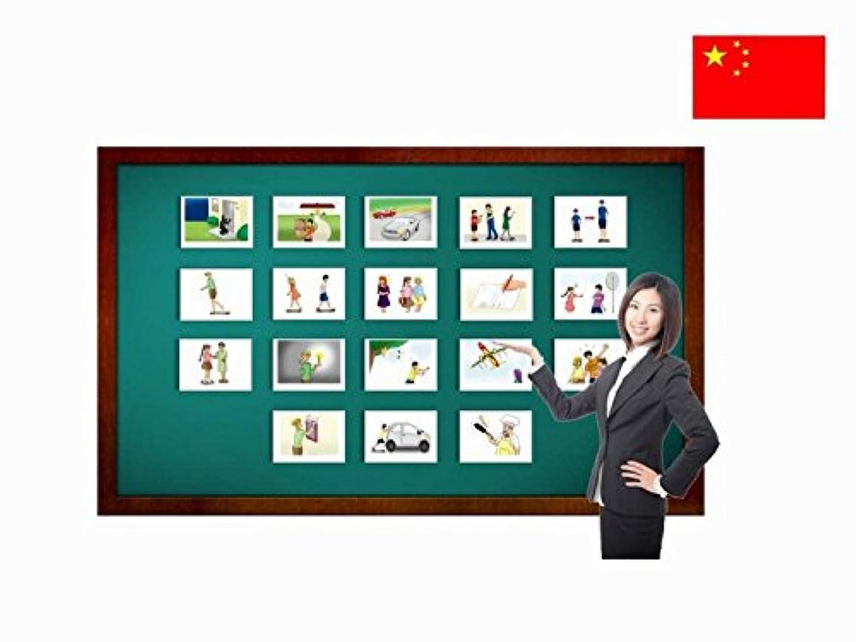 Phrasal Verbs Flash Cards in Chinese - Mandarin Vocabulary Picture Cards - 中国のフラッシュカード - 句動詞