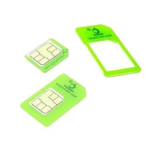 Cismax HD【Amazon即日出荷 】落下防止機能付Nano SIM MicroSIM 変換アダプター 4点セット グリーン iPhone6S/6/6plus/5S/5C/4S/4/3GS/3用STD xperia スマホ 拡張 便利 micro 全部入り 交換 代替 Ciscle (Clear Green あかるい緑色) CGr4