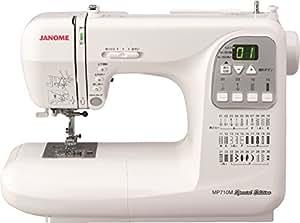 最新モデル ジャノメ コンピュータミシン MP710MSE 新色(プラチナシルバー)