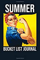 Summer Bucket List Journal: 100 Bucket List Guided Prompt Journal Planner Birthday Gift For Tracking Your Summer Adventures