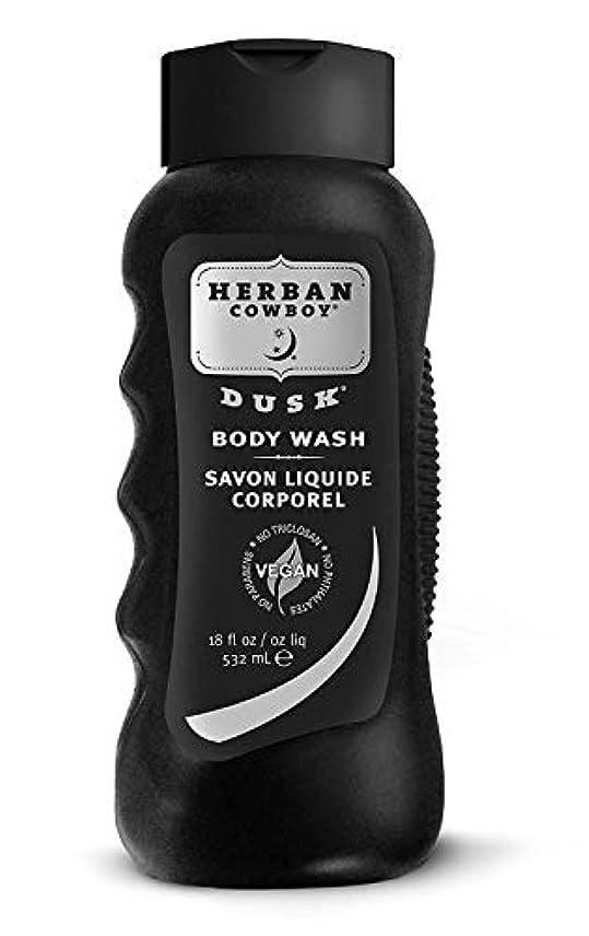 辛な砦浸透するHerban Cowboy Body Wash, Dusk, 18 oz by Organic Grooming by Herban Cowboy