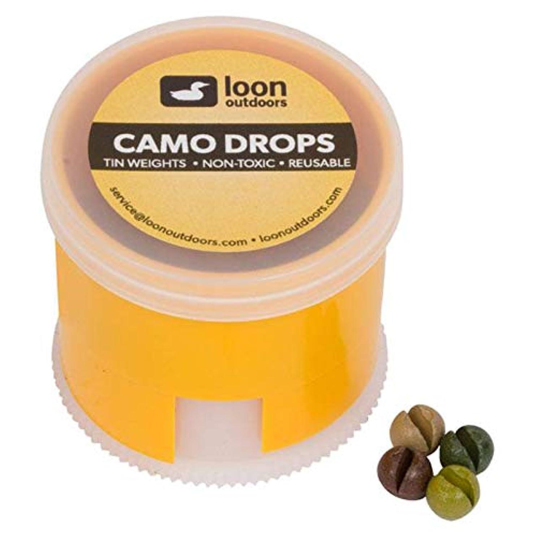 刈る透明に部分的Loon Outdoors Camo Drops スプリットショット 6 Division LOCD6