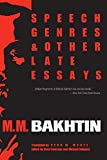 Speech Genres and Other Late Essays (University of Texas Press Slavic Series) 画像