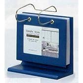 「木製アルバムハンガーフォトスタンド(ヴィンテージブルー) 」(フォトフレーム 写真たて 写真立て フォトスタンド)(プレゼントに最適)[フォトフレーム通販]