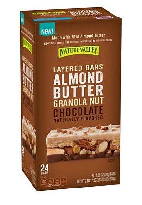 Nature Valley Layered Almond Butter Chocolate Bars ネイチャーバレー レイヤードアーモンドバターチョコレートバー 936g [並行輸入品]