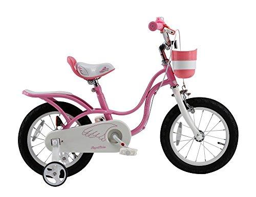 ROYALBABY(ロイヤルベイビー) 16インチ 補助輪付き 子ども用 自転車 ピンク [メーカー...