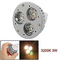 MR16ウォームホワイト3 LEDライト省エネスポットランプ電球3200K 3W
