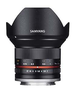 SAMYANG 単焦点広角レンズ 12mm F2.0 ブラック マイクロフォーサーズ用 APS-C用