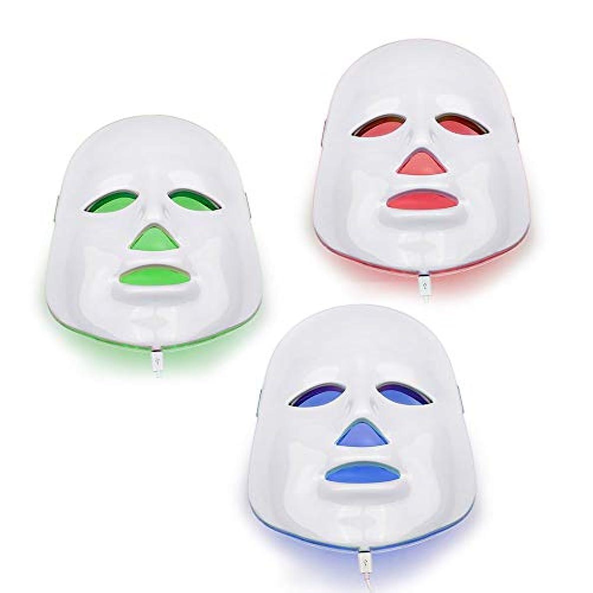 わかりやすいアクション神秘的なNORLANYA BEAUTY EQUIPMENT マスク顔光線療法フェイシャルスキンケアマスカラは皮膚 調色しわ除去 用 光を主導主導しました