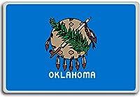 Flag Of Oklahoma (1988-2006) - Flags of the U.S. states fridge magnet - ?????????