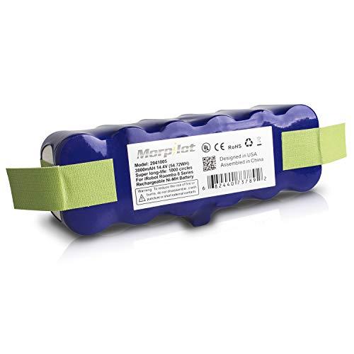 ルンバ用バッテリー Morpilot xlife 3年長寿命 3800mAh ルンバ500 600 700 800 900 シリーズ対応用 14.4V