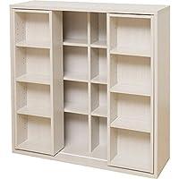 アイリスオーヤマ(IRIS) 書棚 ホワイト ダブル CSD-9090