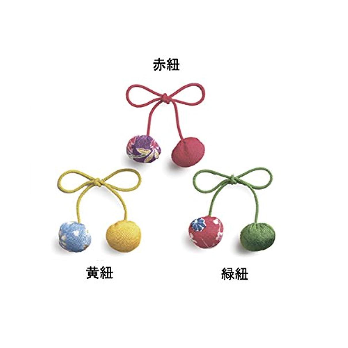交換可能バランスメンタリティ香り結び紐 (黄)