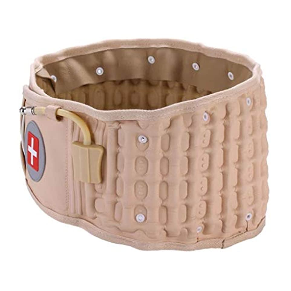 スカーフ復讐脈拍インフレータブルベルト、医療安全腰椎椎間板減圧ベルト、腰椎減圧ストラップベルト、腰痛を和らげる、優れた贈り物