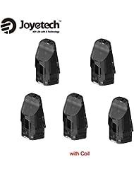 正規品Joyetech Exceed Edge Podカートリッジ 2ml 内蔵1.2ohmコイル 5個セット 1パック