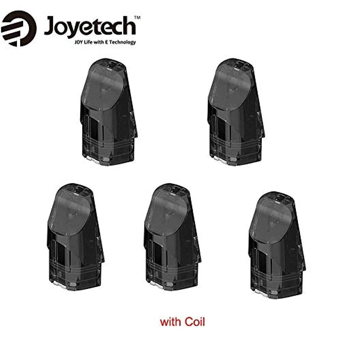 はっきりと成長する枯渇正規品Joyetech Exceed Edge Podカートリッジ 2ml 内蔵1.2ohmコイル 5個セット 1パック