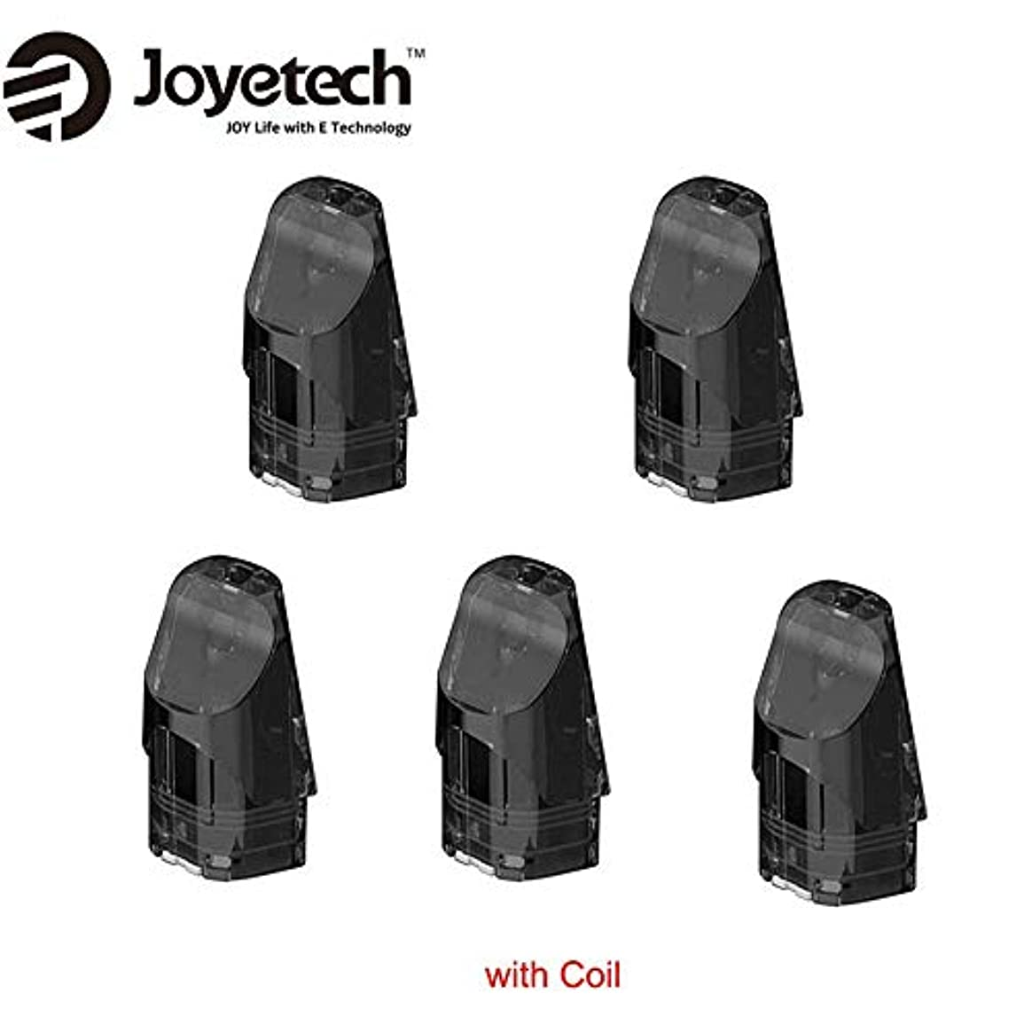 メタリック標高ジャニス正規品Joyetech Exceed Edge Podカートリッジ 2ml 内蔵1.2ohmコイル 5個セット 1パック