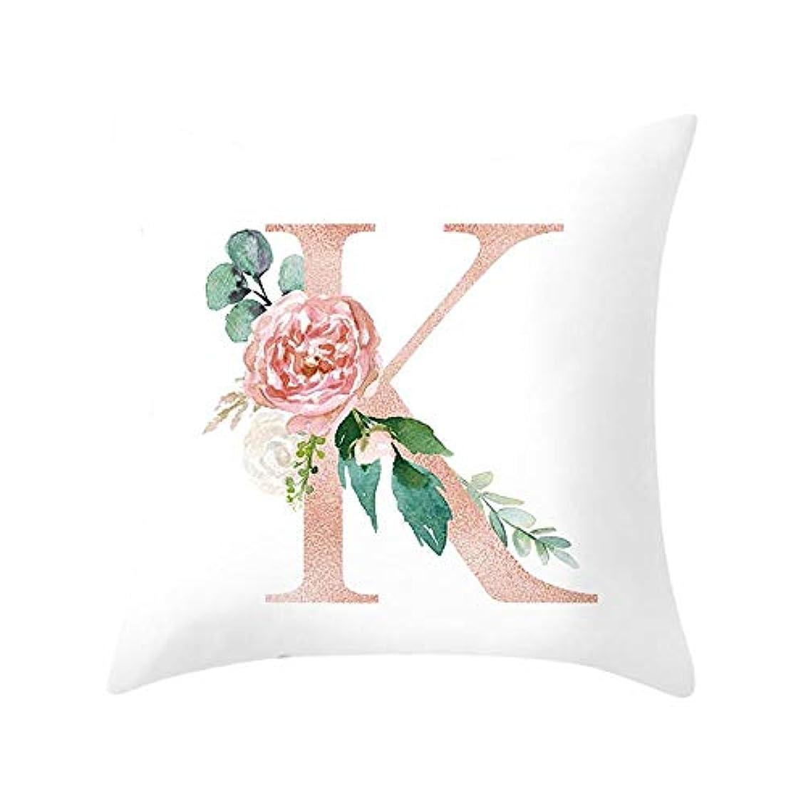 櫛タバコLIFE 装飾クッションソファ手紙枕アルファベットクッション印刷ソファ家の装飾の花枕 coussin decoratif クッション 椅子