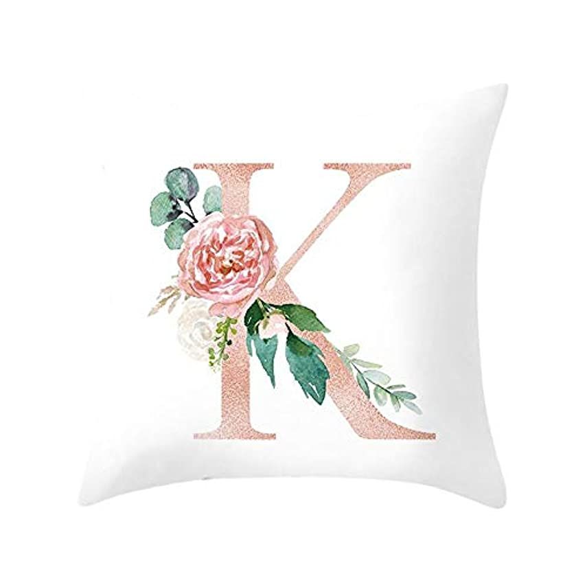 約ペインギリックサイトLIFE 装飾クッションソファ手紙枕アルファベットクッション印刷ソファ家の装飾の花枕 coussin decoratif クッション 椅子